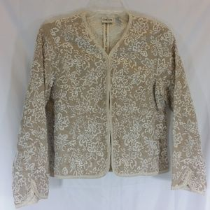 Beautiful Chico's Jacket     Size 1 (M/8)